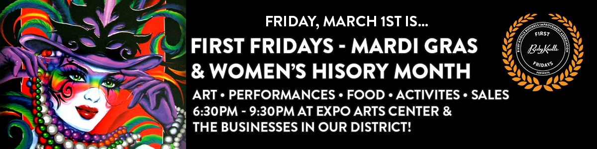 First Fridays March 2019