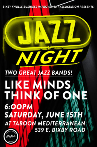 Jazz Night at Taboon June 15
